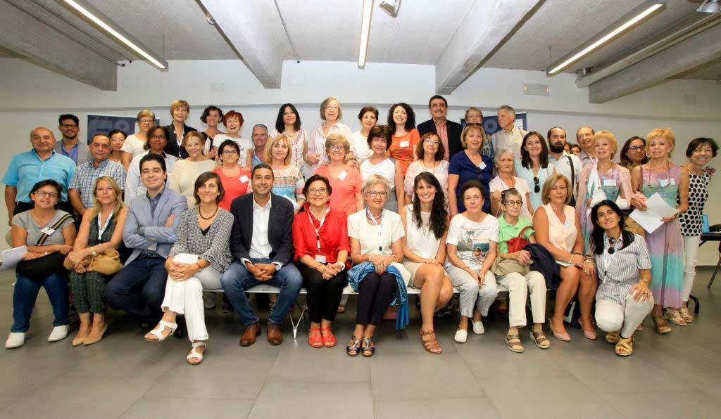 Los miembros de la Asociación Española Síndrome de Sjögren