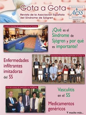 Revista Gota a Gota de la Asociación Española Síndrome de Sjögren